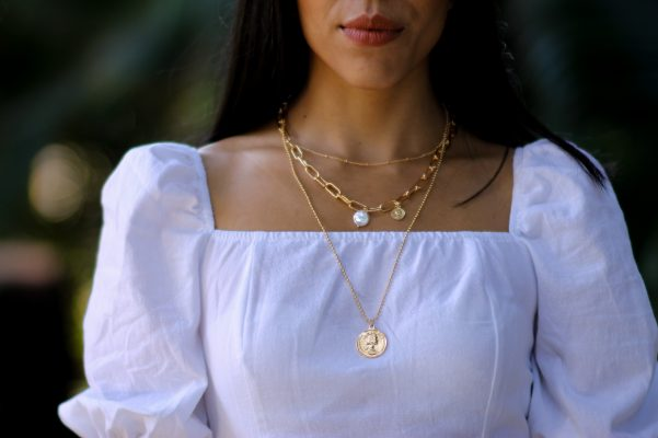 layered necklace moxie