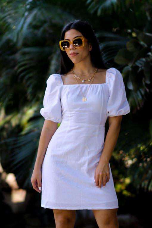 white dress moxie
