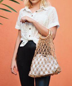 Rae Braided Bag