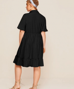 Miri Black Dress Moxie