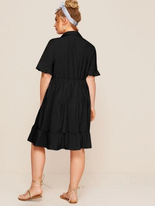 Miri Black Dress Moxie