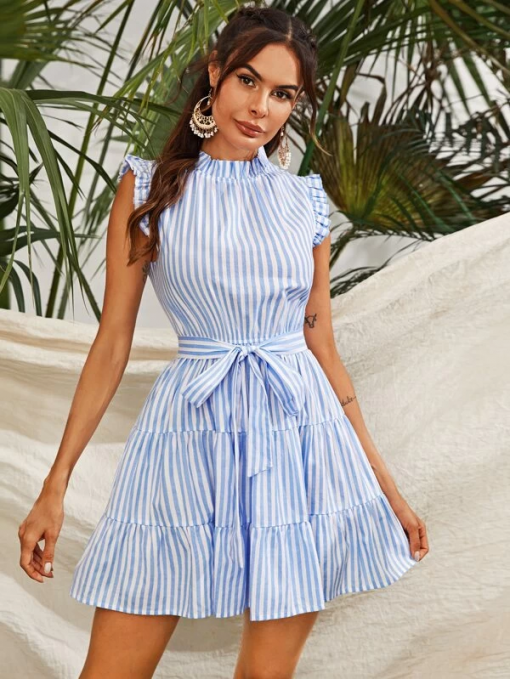 Fiona Striped Dress