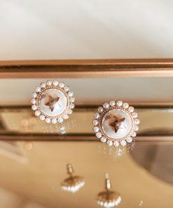 Moxie Aruba Pearl Earrings