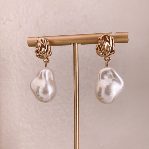 Freshwater Pearl Drop Earring Moxie