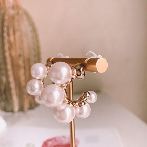 Chunky pearl earrings Moxie