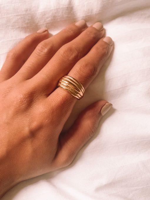 Moxie Ring Gold